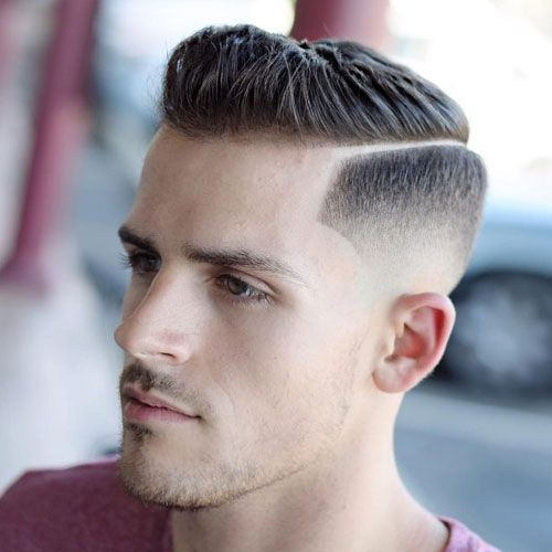 Hard Side Part Style Hair Cut for Boys 2018