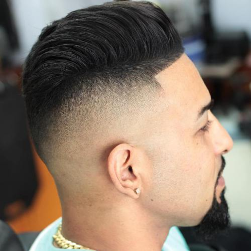 High Top Afro Hair Cut for Boys 2018