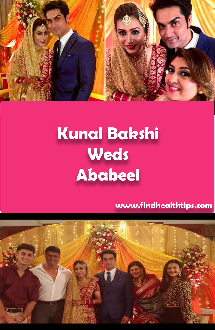 Kunal Bakshi Weds Ababeel Tv Actors Wedding 2018
