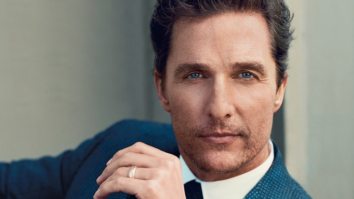 Matthew McConaughey Handsome Actors In Hollywood