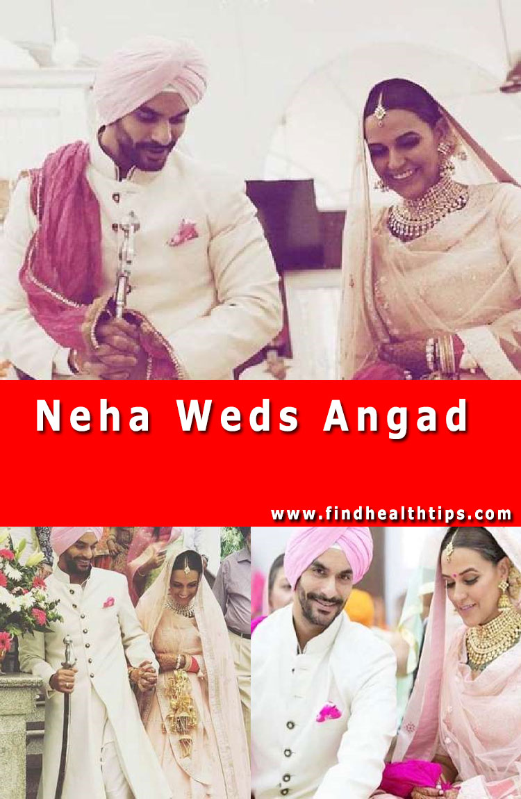 Neha Weds Angad Celebrities Wedding 2018