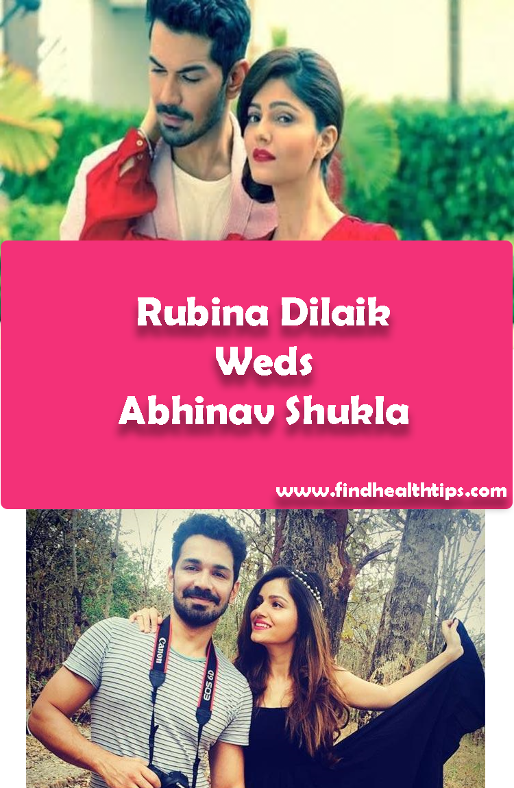 Rubina Dilaik Weds Abhinav Shukla Tv Actors Wedding 2018