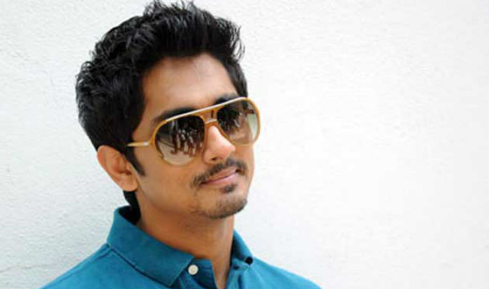 Siddharth Most Handsome South Indian Actor