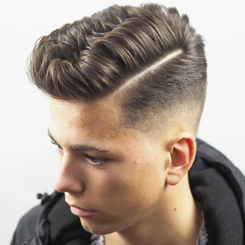 Taper Fade Hair Cut for Boys 2018