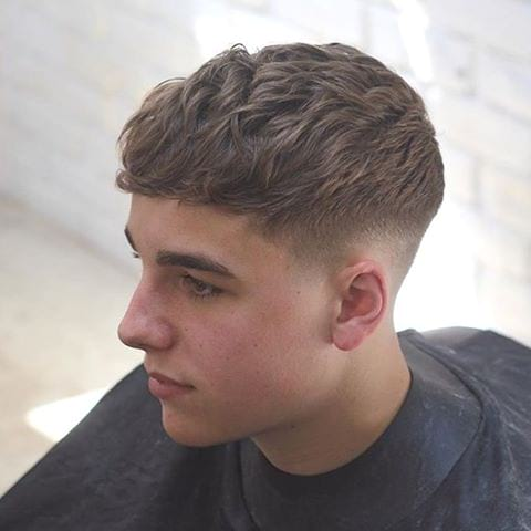 Tapered Sides Hair Cut for Boys 2018