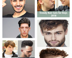 Trendy Hair Cut Boys 2018