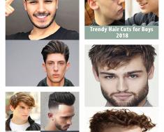 Trendy Hair Cut Boys 2018