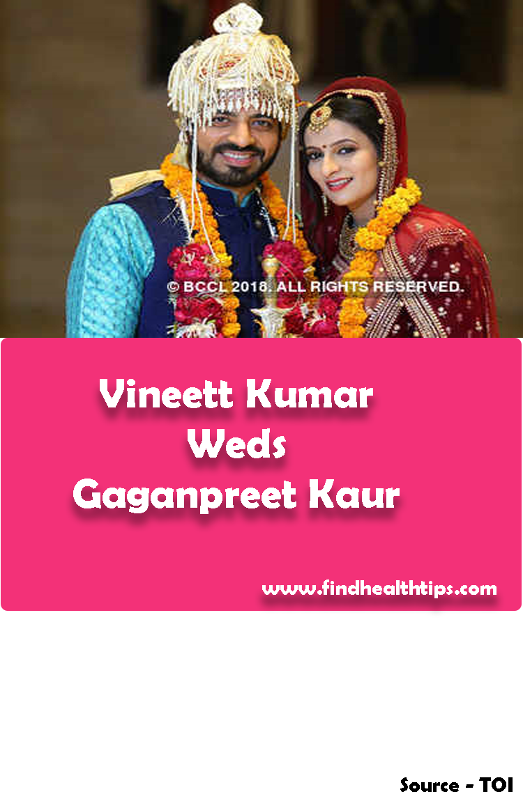Vineett Kumar Weds Gaganpreet Kaur Tv Actors Wedding 2018