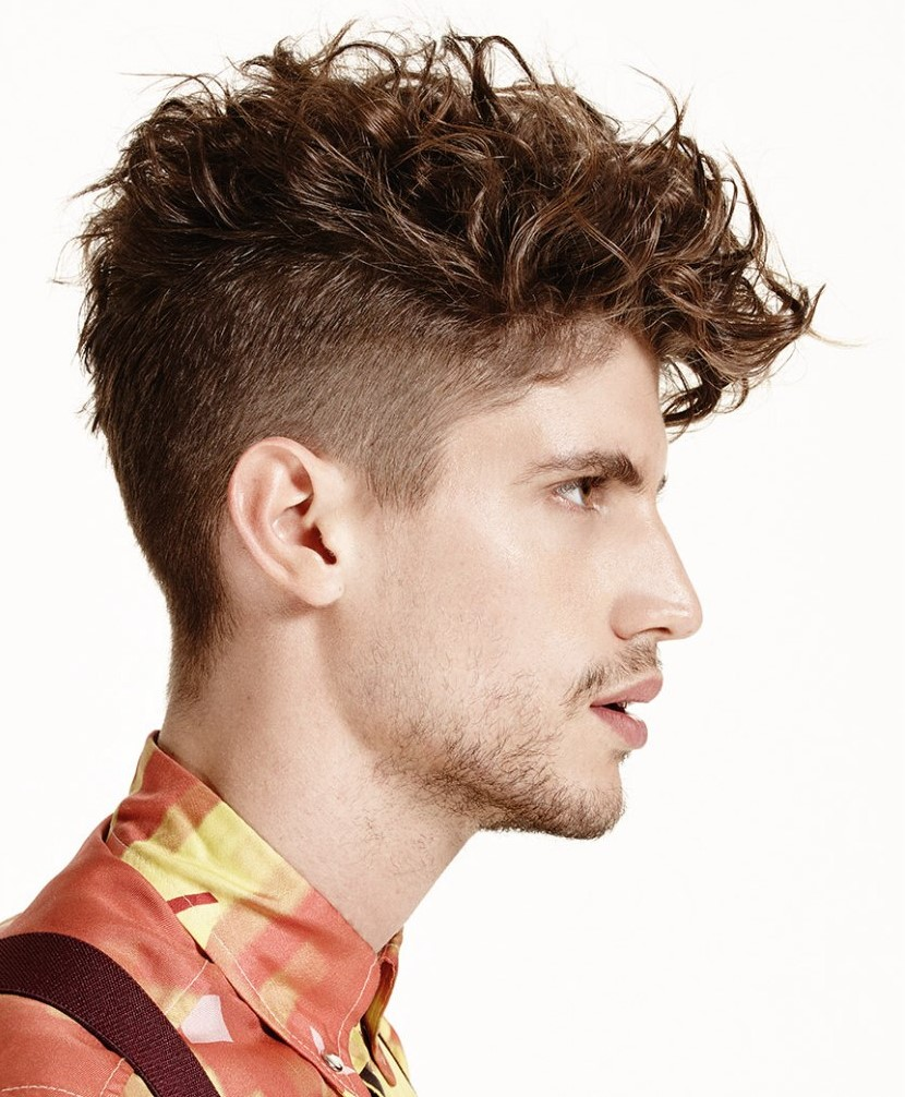 Wavy Brush Hair Cut for Boys 2018