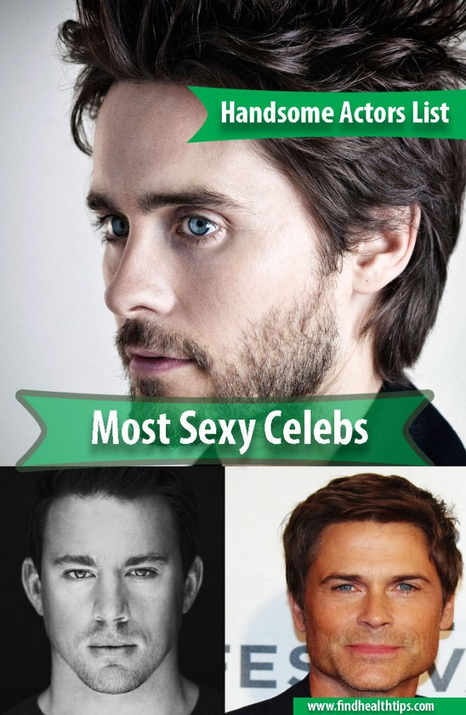 handsome actors hollywood 2018
