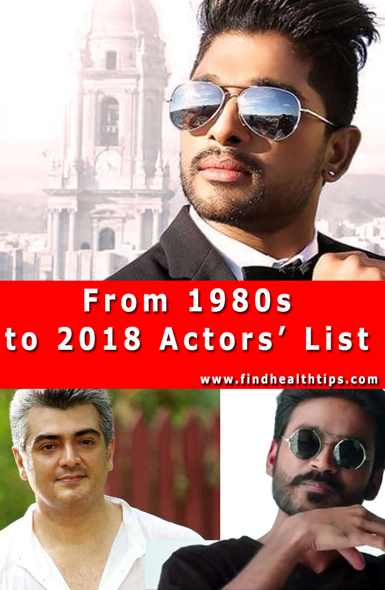 most handsome actors south indian films