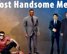 most handsome men world 2018