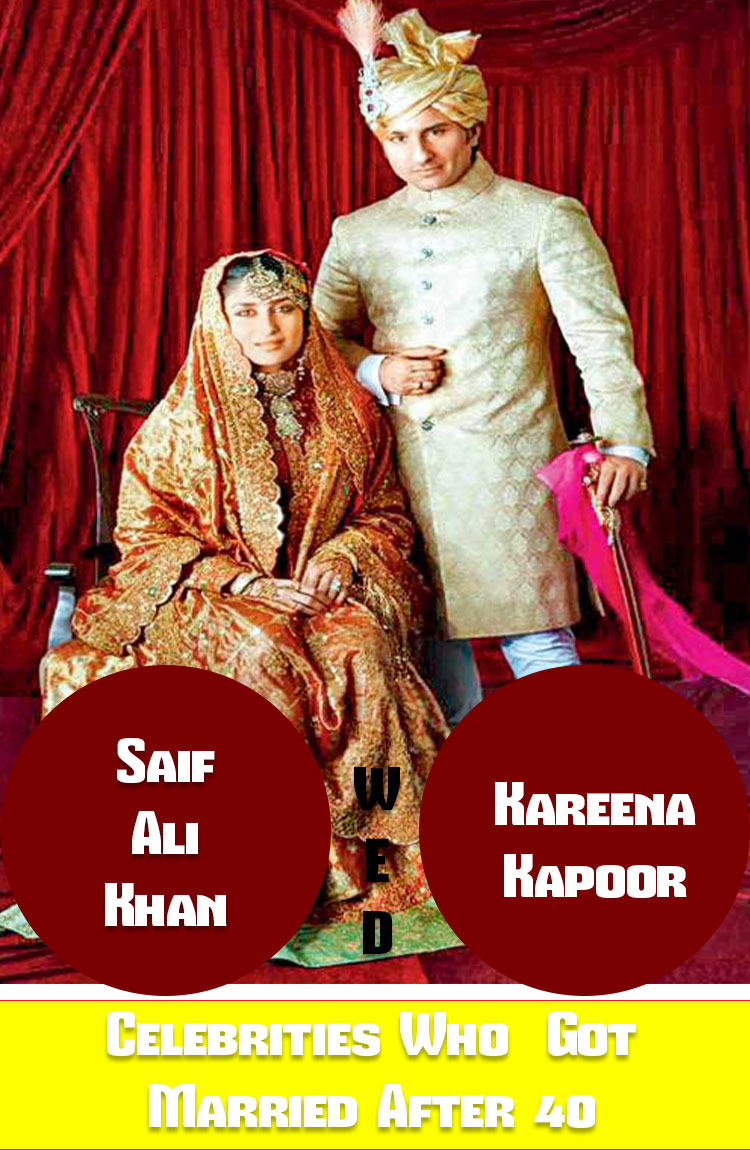 List of Bollywood Celebrities Who Got Married After the Age of 40 6