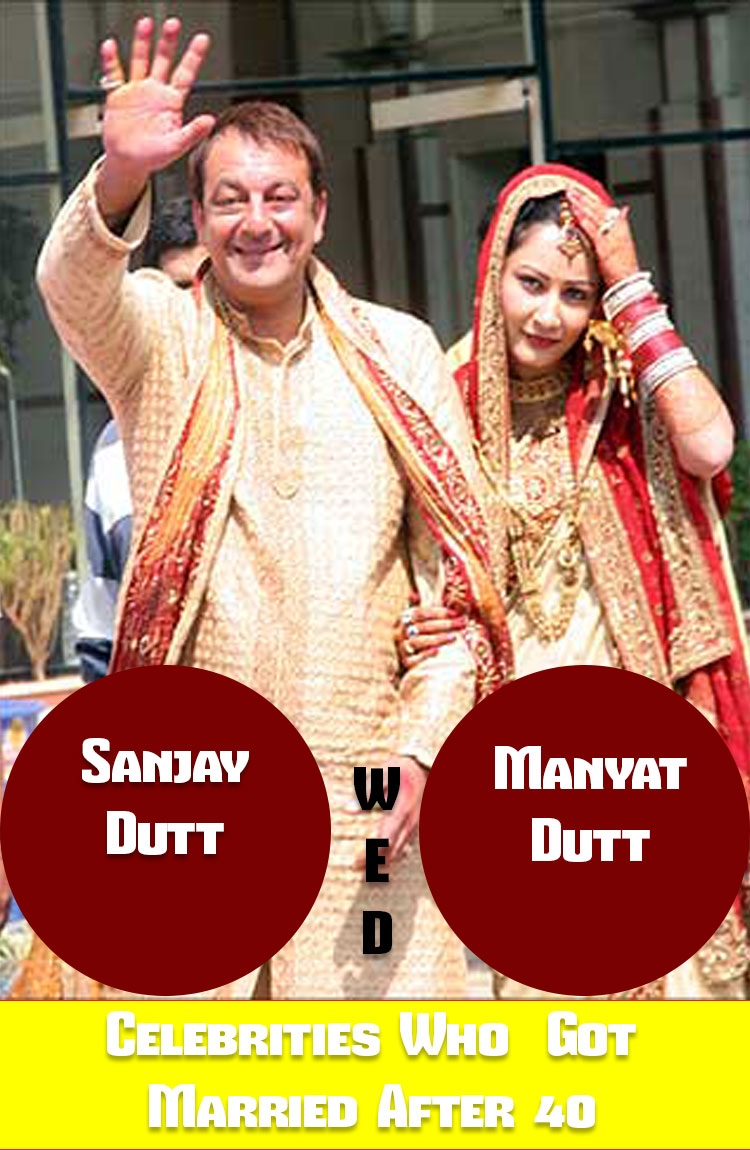 List of Bollywood Celebrities Who Got Married After the Age of 40 8