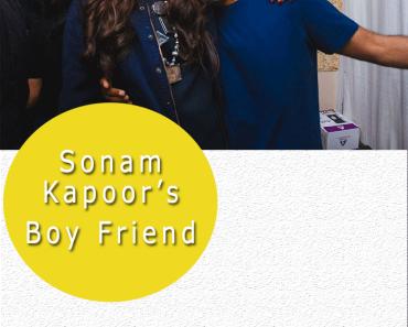 Sonam Kapoor's Boyfriend