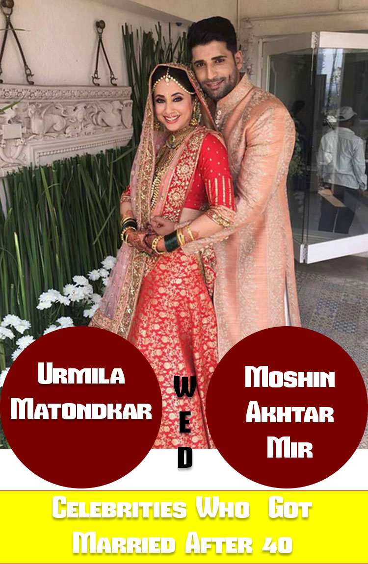List of Bollywood Celebrities Who Got Married After the Age of 40 1