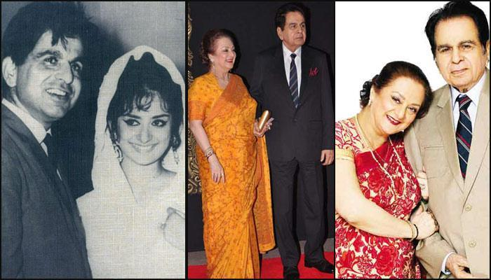 Dilip Kumar Saira Bano with Long Happy Marriage