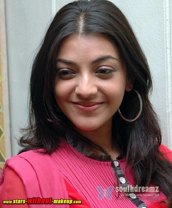 Kajal Agarwal No MakeUp Photo