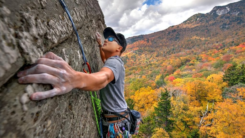 Rock Climbing-best exercise to burn fat and lose weight