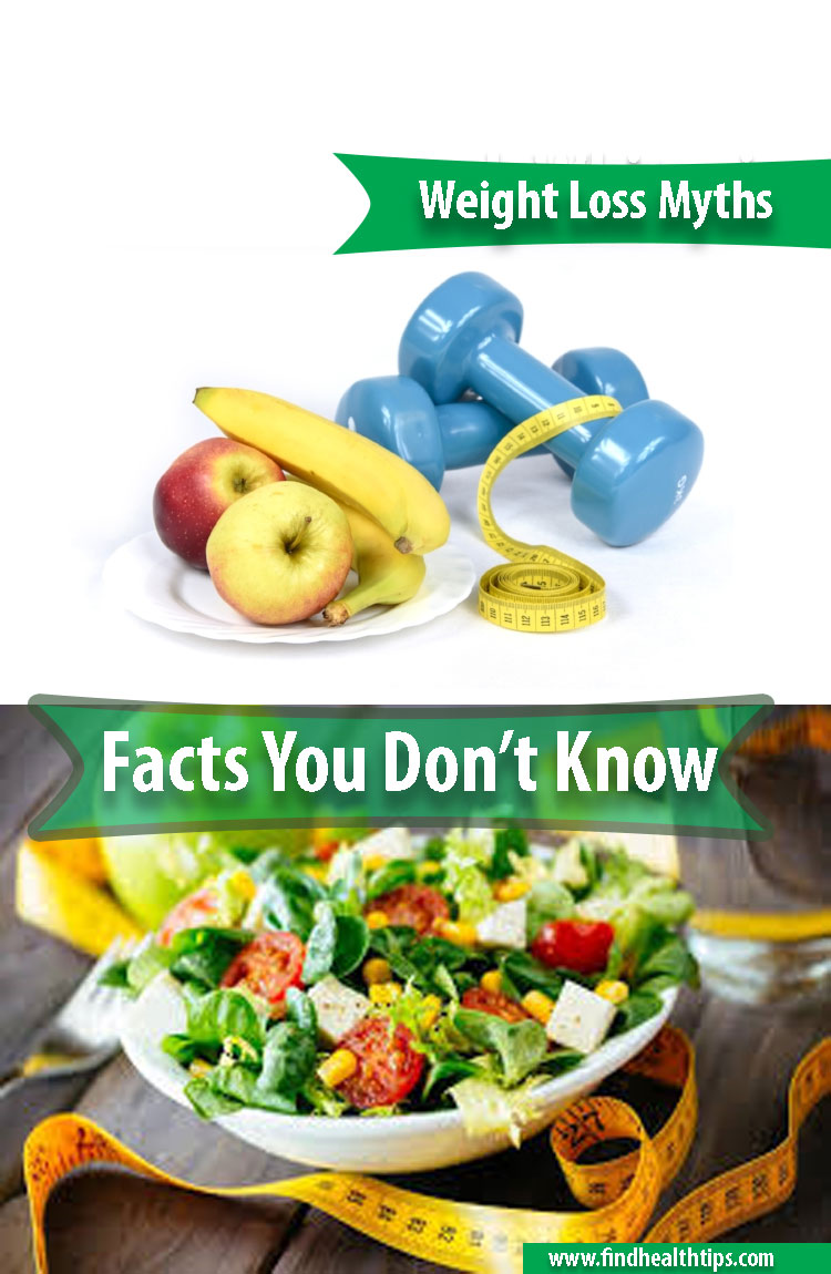 Weight Loss Facts and Myths