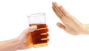 cut down alchohol