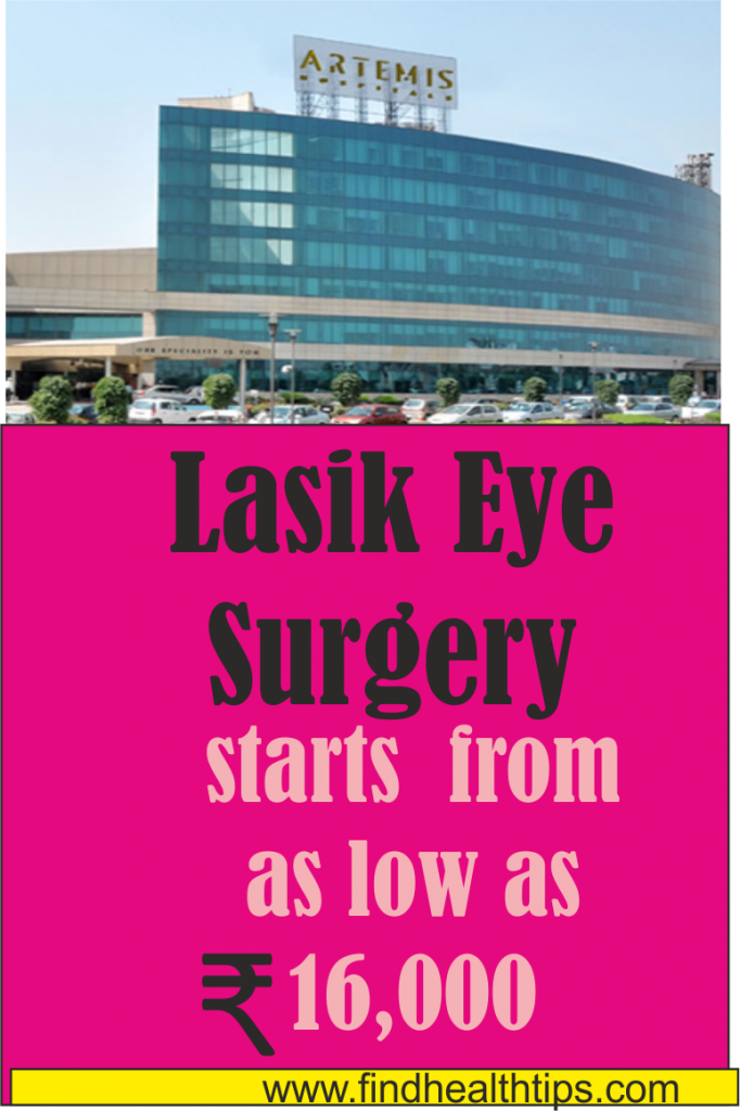 lasik eye surgery cost artemis hospital Delhi