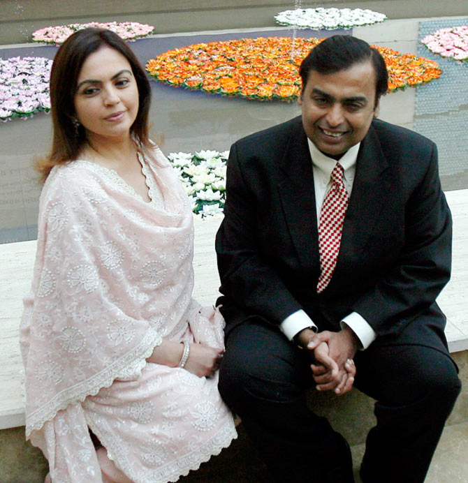 mukesh nita ambani marriage life