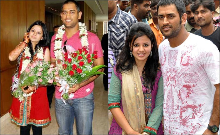 Beautiful Indian Cricketer Wives Dhoni Sakshi