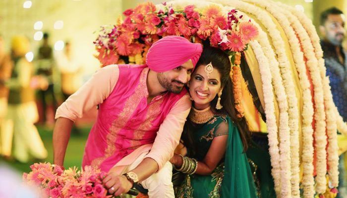 Beautiful Indian Cricketer Wives Harbhajan Geeta