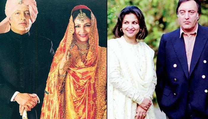 Beautiful Indian Cricketer Wives Mansur Ali Khan Pataudi Sharmila Tagore