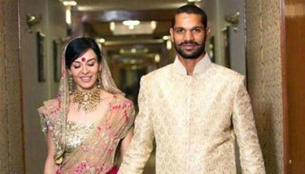 Beautiful Indian Cricketer Wives Shikhar Ayesha