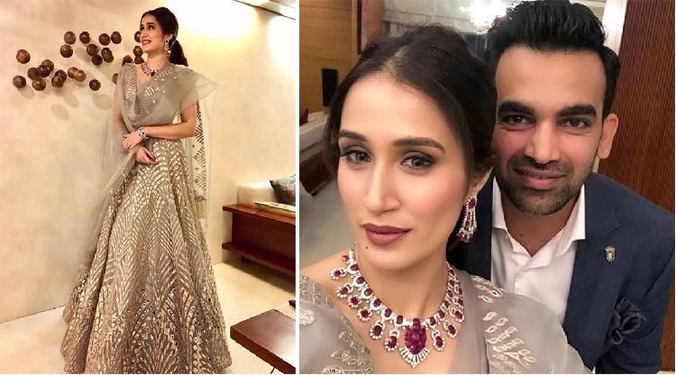 Beautiful Indian Cricketer Wives Zahir Sagarika