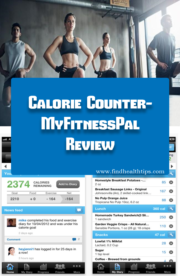Calorie Counter MyFitnessPal Best Fitness Apps For Android 2018