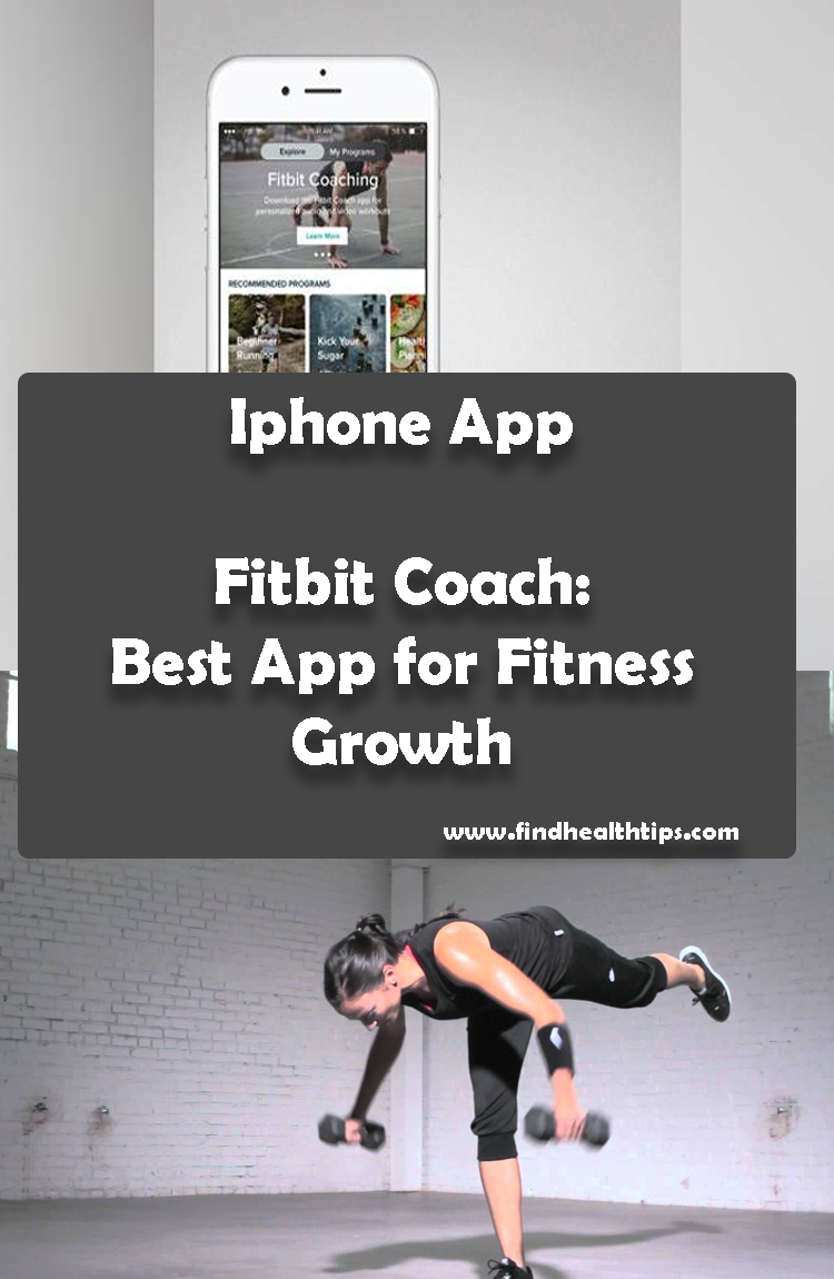 Fitbit Coach Best App for Fitness Growth Best Health Fitness IPhone Apps 2018