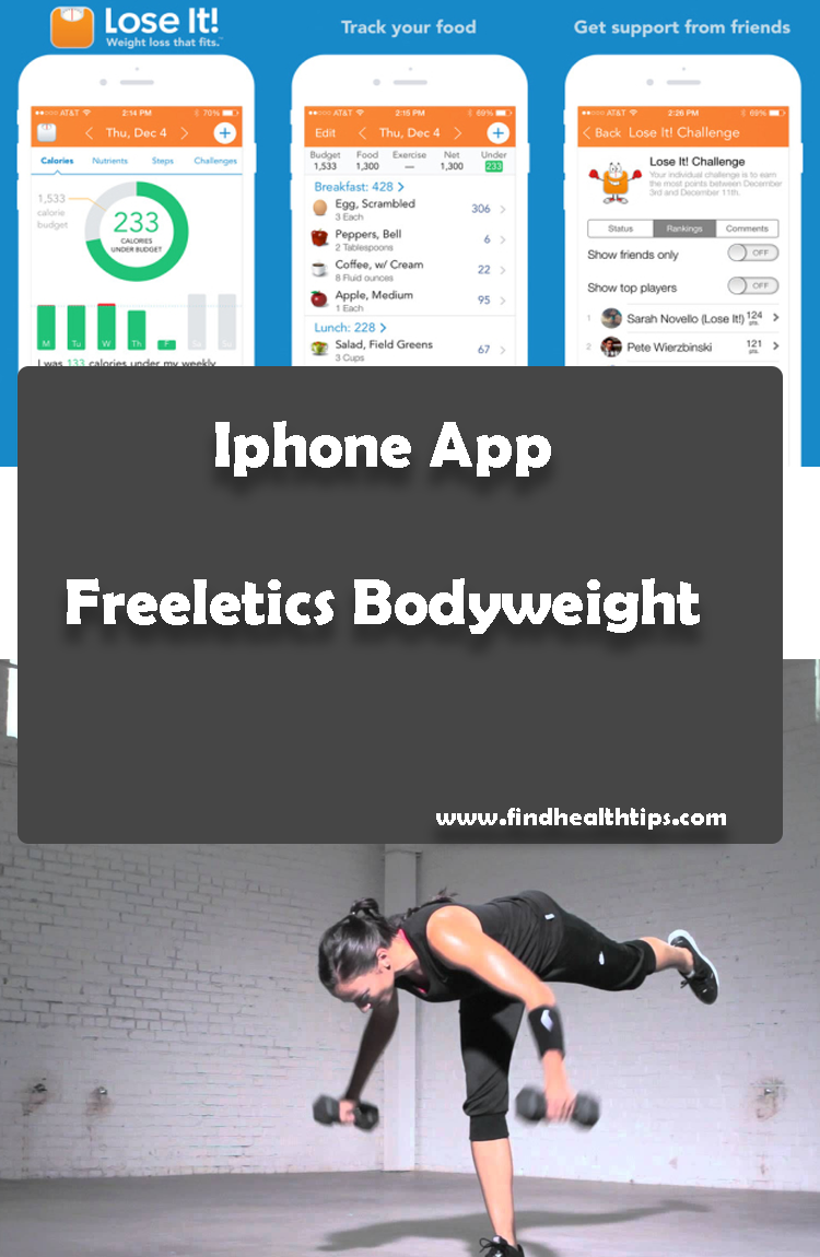 Download Health and Fitness Apps for IPhone - 2018 1