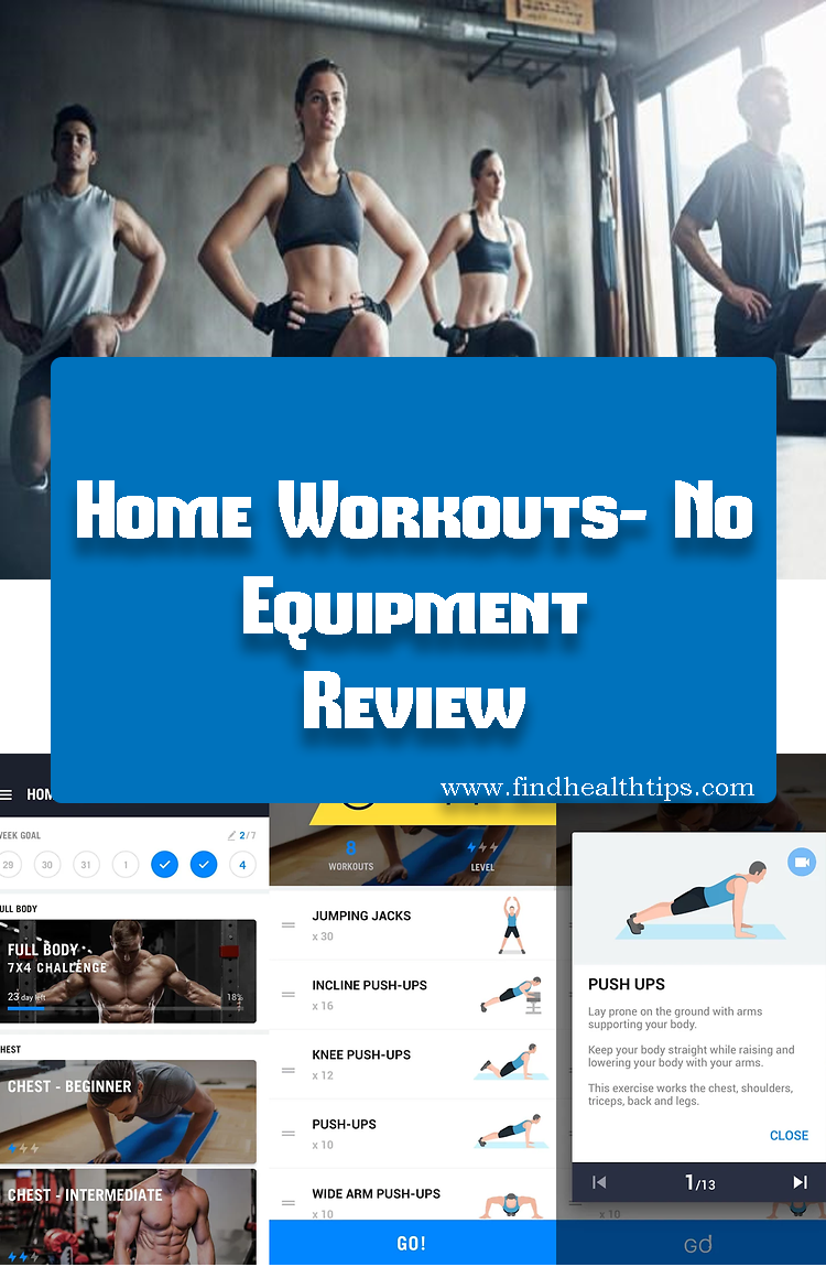 Home Workouts No Equipment Best Fitness Apps For Android 2018