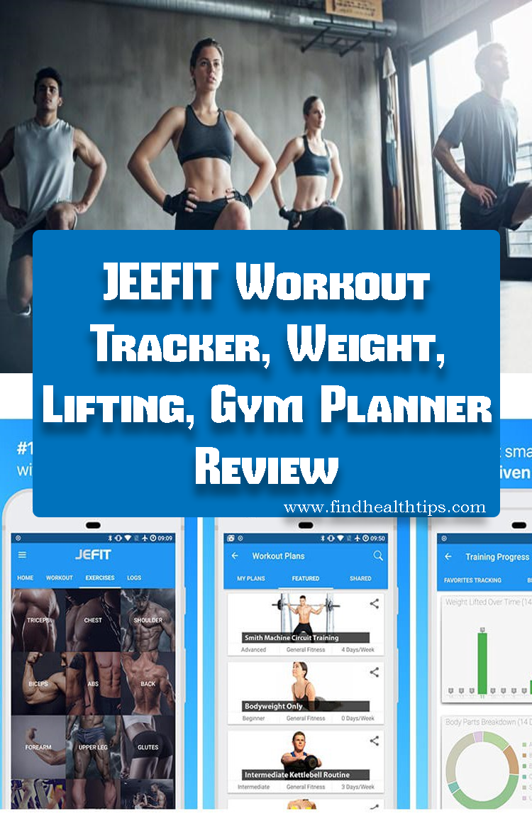 JEFIT Workout Tracker Weight Lifting Gym Planner Best Fitness Apps For Android 2018