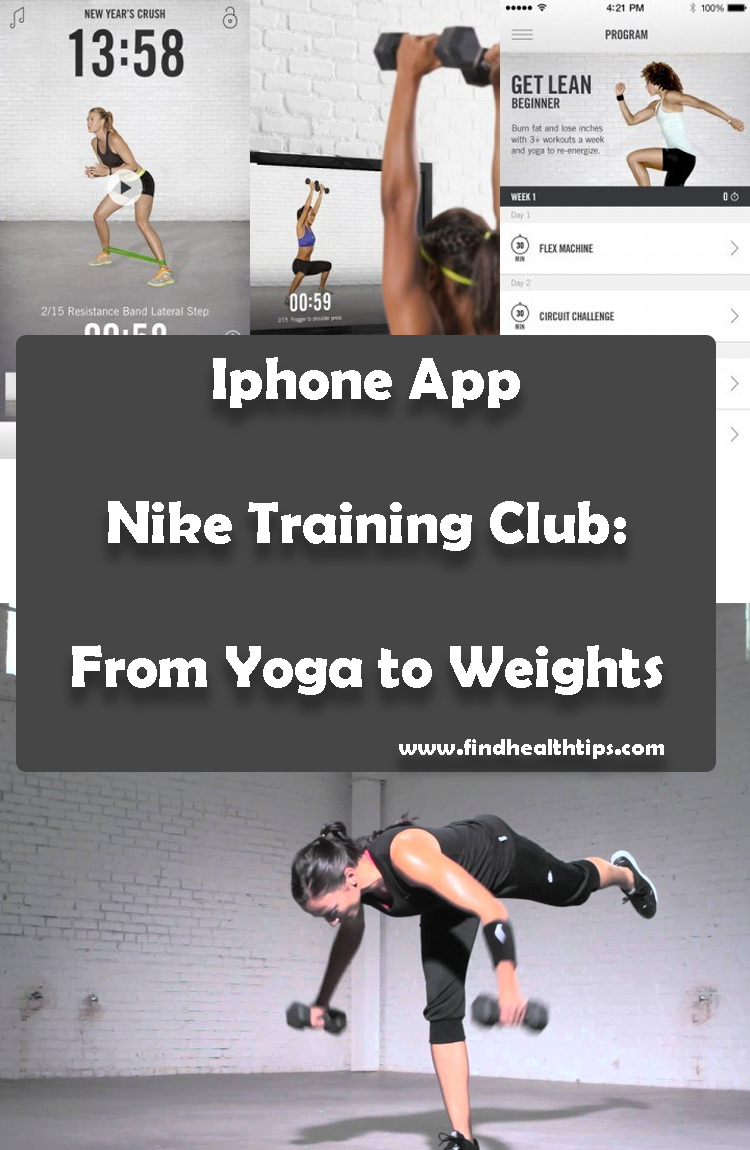 Nike Training Club From Yoga to Weights Best Health Fitness iPhone Apps 2018