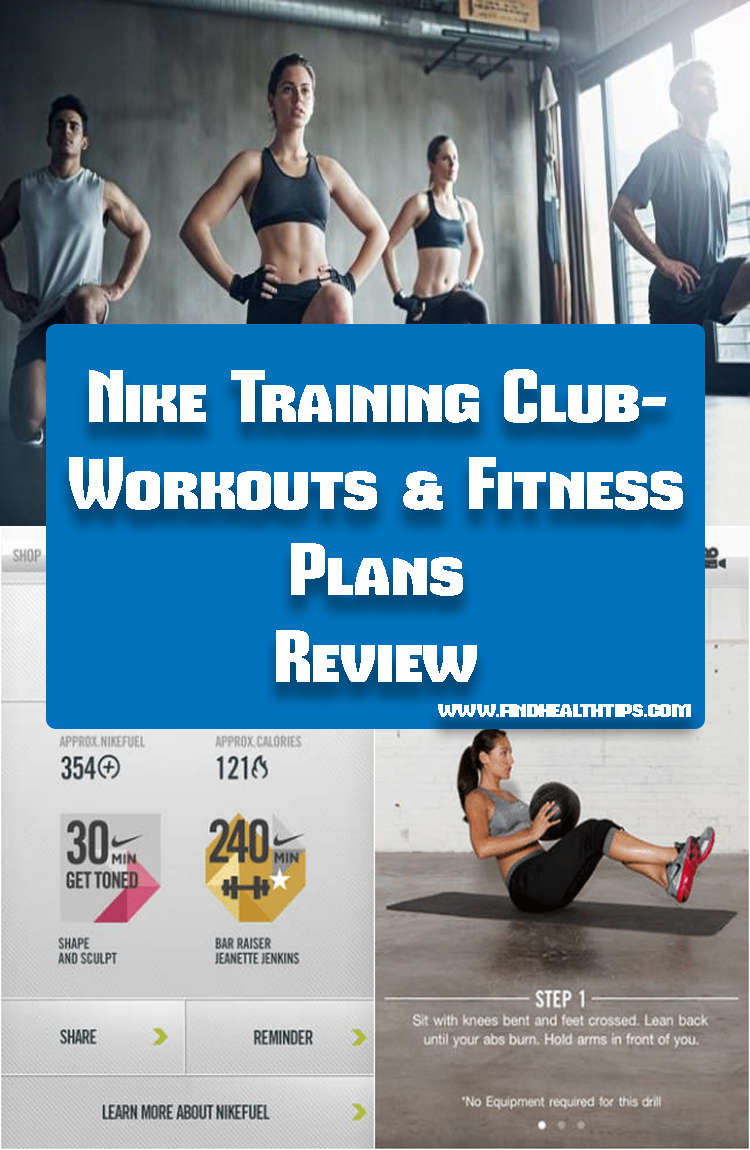 Nike Training Club Workout & Fitness Plans Best Fitness Apps For Android 2018