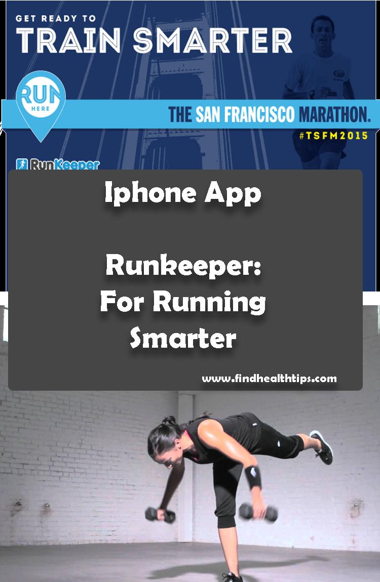 Runkeeper For Running Smarter Best Health Fitness IPhone Apps 2018
