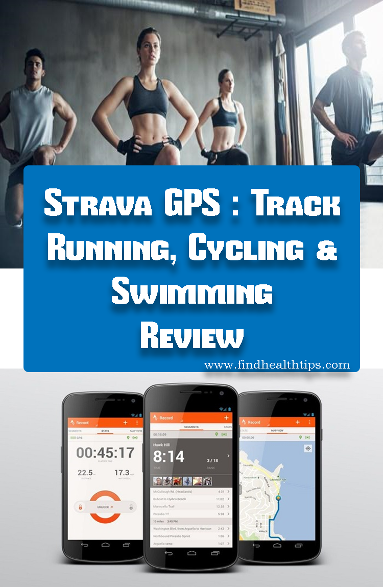 Strava GPS Track Running Cycling & Swimming Best Fitness Apps For Android 2018