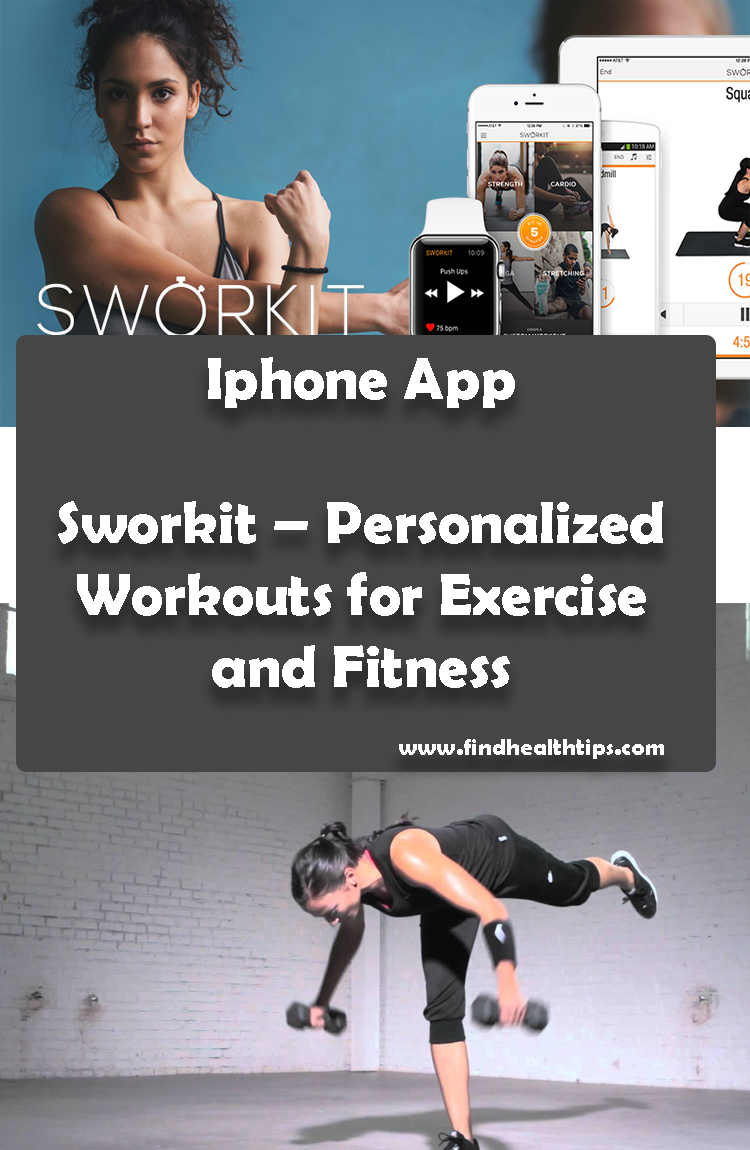 Sworkit Personalized Workouts for Exercise and Fitness Best Health Fitness IPhone Apps 2018