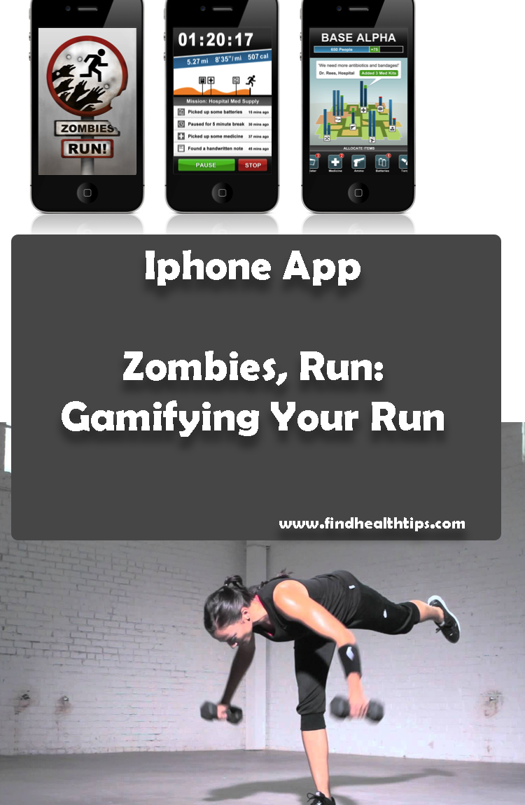 Zombies Run iphone Best Health Fitness IPhone Apps 2018