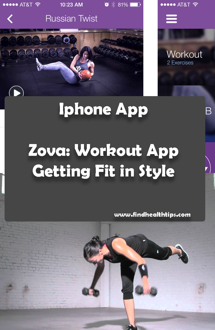 Zova Workout App Getting Fit in Style Best Health Fitness IPhone Apps 2018
