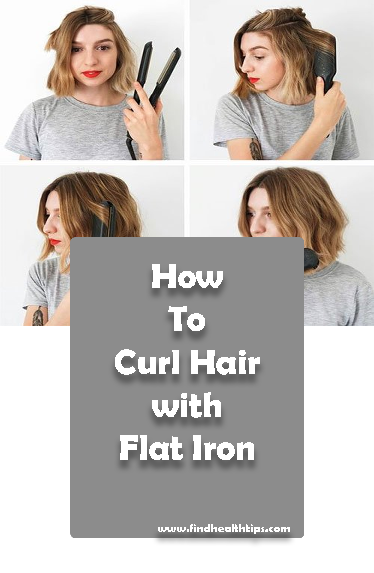 curl hair with iron