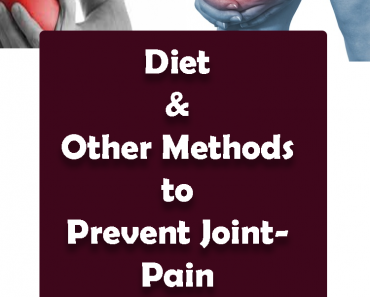 diet prevent methods joint pain