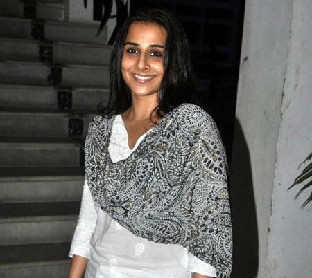 Vidya Balan pics without Makeup
