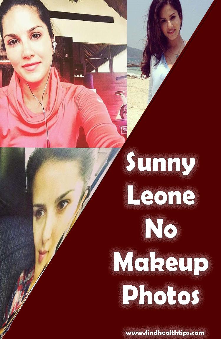 sunny leone no makeup photos