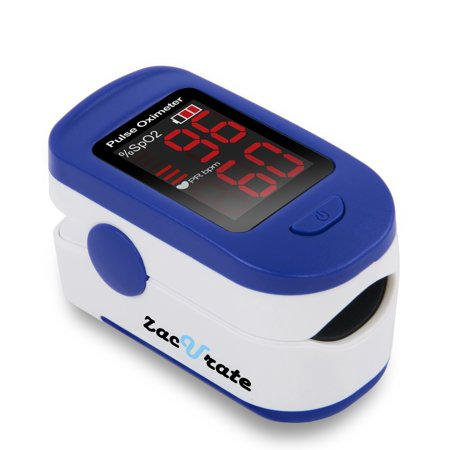 zacurate 400b fingertip pulse oximeter