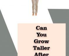 grow taller after 30